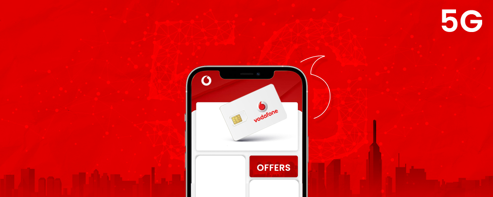 Vodafone 5G plans on iPhone