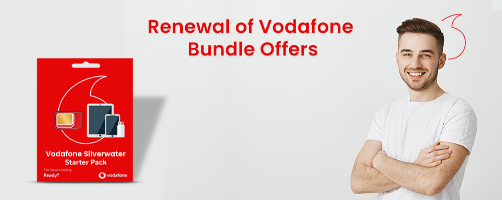 how to renew your Vodafone bundle offer