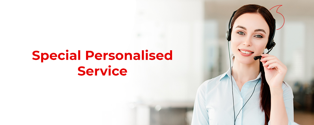 Vodafone personalised service for special customers