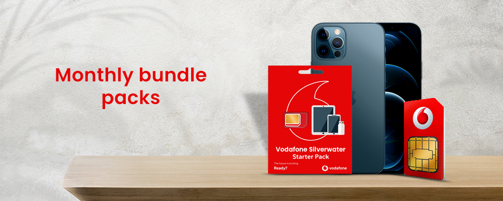 Vdafone Monthly Bundle offers