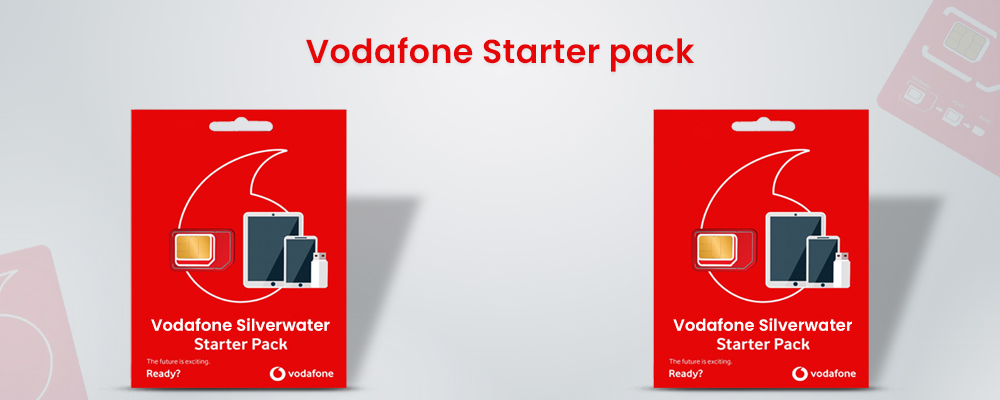 Vodafone Silverwater Bundle starter pack